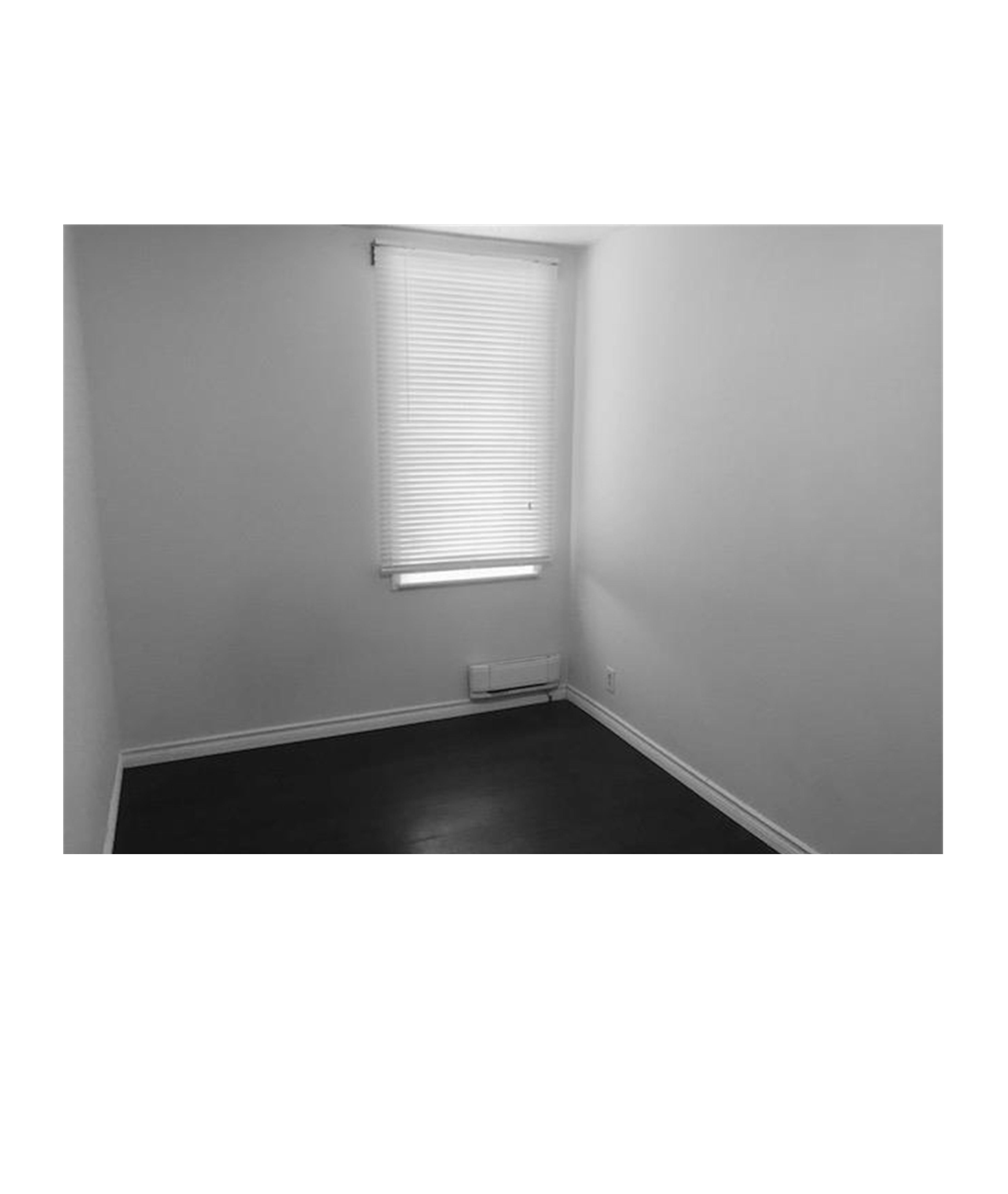 photograph of an empty room